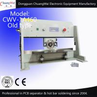 China Automatic V-Cut PCB Separator Motorized Circular / Linear Blade on sale