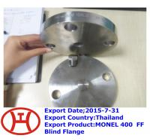 MONEL 400  FF Blind Flange Manufactures