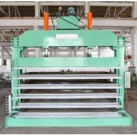 China Second Stage Foaming Hydraulic Platen Curing Press on sale
