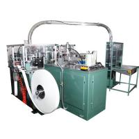 High Speed Disposable Ice Cream Cup Making Machine Line With PLC Control And Hot Air System Manufactures