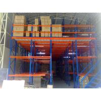 Powder Coating Mezzanine Racking System Overhead Storage Racks High Performance Manufactures