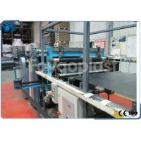 Single Screw Plastic Sheet Making Machine For Producing PP Sheet / PP Plate Manufactures