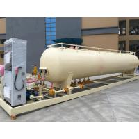 China China Made 10MT 20M3 Mobile LPG Tank for Gas Filling Station on sale