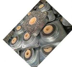 Zirconia Sizing Furnace Refractory Bricks Small Curved With Tundish Ladle Nozzle