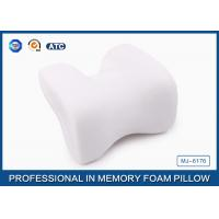 China Orthopedic Sleep Airline Memory Foam Car Neck Pillow Neck Support Cushions on sale