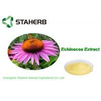100% Natural Standard Reference Materials , Herb Medicine Echinacea Purpurea Extract Cichoric Acid 2% Manufactures