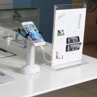 COMER Phone shop cell phone security anti-shoplifting alarm display wall mounted holder Manufactures