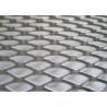 Stainless Steel Diamond Mesh Sheet Skid Resistance ISO9001 Certification for sale