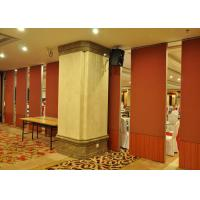 Quality Restaurant Movable Partitions  Patio Sliding Door For Hotel  Acoustic Door for sale