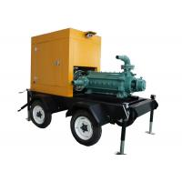 Centrifugal High Pressure Fire Fighting Pumps , Diesel Engine Driven Fire Water Pump Manufactures