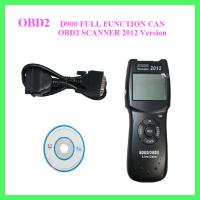 D900 FULL FUNCTION CAN OBD2 SCANNER 2012 Version Manufactures