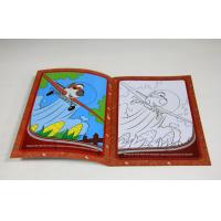 Children Softcover Book Printing Saddle Stitching Binding With Die Cutting Manufactures