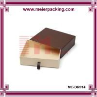 Drawer Style Paper slide Box Gift Packaging With glossy lamination ME-DR014 Manufactures