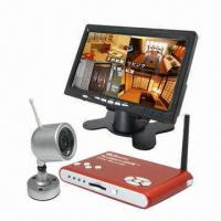 Wireless Camera Kit with DVR and 2.4GHz Home Video Surveillance Systems Manufactures