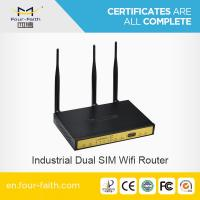 RS232/RS485 industrial 3g router load blancing with dual wifi F3B32 Manufactures