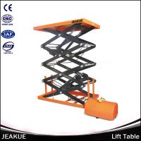 Capacity 400/800kg Electric Lifting Four Scissors Lift Table for Sale Manufactures