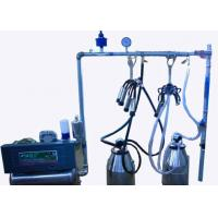 Quality Fully Refurbished Stainless Steel Mobile Milking Machine With Polished Pulsator for sale