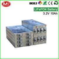 China High Capacity Lithium Iron Phosphate Prismatic Cells rechargeable 3.2v 10ah on sale