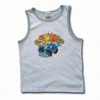 Baby Shirt, Made of 100% Cotton, Customized Printings and Colors are Welcome Manufactures