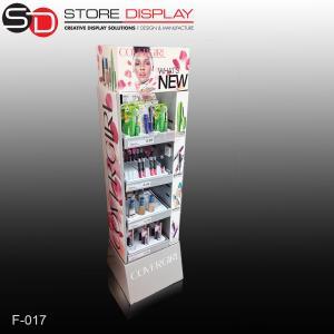 attractive skincare supermarket carton display rack Manufactures