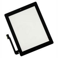 Quality Anti-Fingerprint Ipad LCD Screen For Ipad 3 Digitizer/Touch Screen Black for sale
