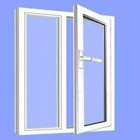 Aluminum Casement Window, Available with Anodized, Powder-coated or PVDF Surface Treatment Manufactures