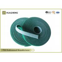 Green Waterproof Double Sided Hook And Loop Tape , Back To Back Tape Manufactures