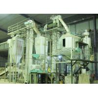 Wood Sawdust Wood Pellet Production Line For Industrial Boilers / Home Fireplace Manufactures
