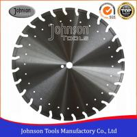 Professional Asphalt Cutting Blades / Asphalt Cutter Wheel With Decoration Holes Manufactures