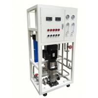 Industrial Water Purification Systems With Powder Coated Steel Rack Manufactures
