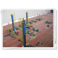 Tube Tower Turnkey Solution Heavy Duty Welding Column Boom With Safety Walkway Manufactures