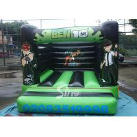 Indoor small kids ben 10 bouncy castle with EN14960 certified made of lead free pvc tarpaulin Manufactures