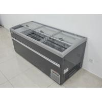 Painted Sliding Glass Door Freezer Auto Defrost For Meat  1000L Manufactures