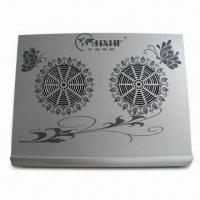 Quality Laptop Cooler Pad with Aluminum Panel, Multi-USB 2.0 Slot and Exquisite Appearance for sale