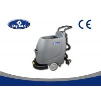 Hand Push Floor Scrubber Dryer Machine Semi Automatic PLC Control Mode Manufactures