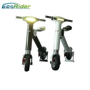 Aluminium Alloy 48v Electric Foldable Bike , Folding Electric Bike Lg / Samsung Battery Manufactures