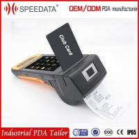 Gps Android Mobile Pos Terminal With Portable Handheld Barcode Printer Manufactures