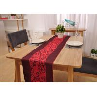 Restaurant Rectangle Dining Table And 6 Chairs , Canteen Large Dining Room Table Manufactures