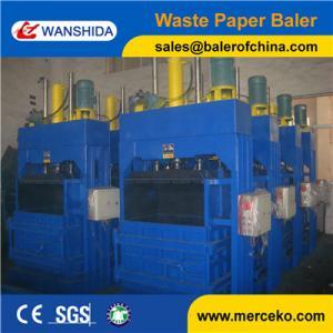 Vertical Waste cardboards Balers Manufactures