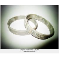 Hot sell silicone bracelets for promotion Manufactures