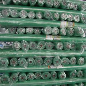 Green Mesh Design PE Transparent Waterproof Canvas Tarps Customized canvas tarpaulin Manufactures