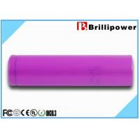 China Sanyo 3.7v Rechargeable Battery Lithium Polymer Battery for E-cig mod 2500mah on sale
