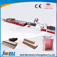 China High quality useful WPC/PVC door panel extrusion line / plastic extrusion on sale