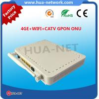 HZW-G804-TW ONT 4GE CATV WIFI GPON ONU for wholesale with fast shipment Manufactures