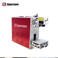 Compact Portable Laser Marking Machine Silver S925 Gold Engraving FDA Certificated Manufactures