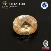 China High Quality Oval Shape Chess Checker Cut Cubic Zirconia CZ Stone In Any Size For Ring on sale