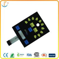 China Graphic Overlay PCB Membrane Switch Keypad Panel , Membrane Film Switch on sale