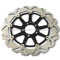 CNC Anodized Motorcycle Brake Disc Brakes And Rotors Kawasaki ZX9R ZZR 1100 Manufactures