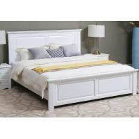 Handmade Classic Style Solid Wood Bed Frame Full Size Strong Structure High Grade Manufactures