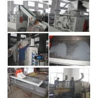 Film Pelletizing Waste Polythene Recycling Machine , Plastic Agglomerator Machine Manufactures